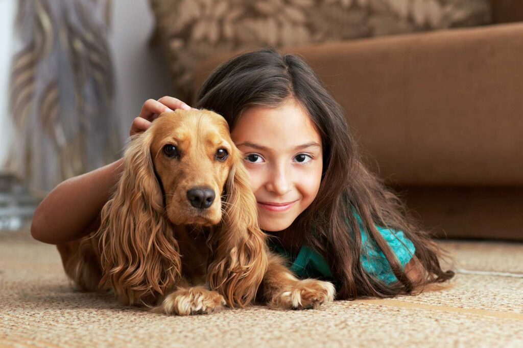 Carpet Cleaning Safe for Children and Pets