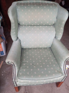 Vintage Furniture, Chair Upholstery Cleaning