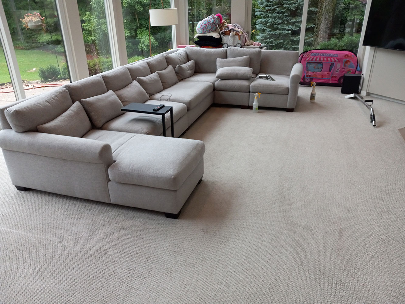 sectional sofa upholstery cleaning